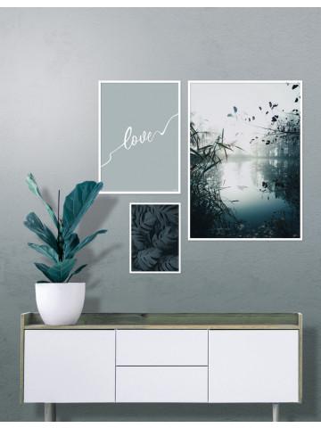Spotpris / Plakat: 3 x plakater i 50x70cm, 30x40cm og 21x30cm (Earth)