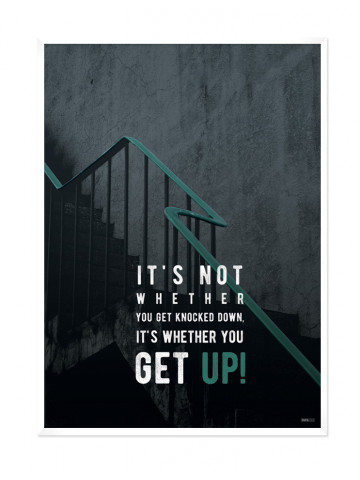 Plakat: Stairs (Men Only)