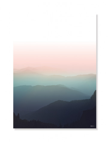 Plakat/Canvas: Sunset (BRIGHT)