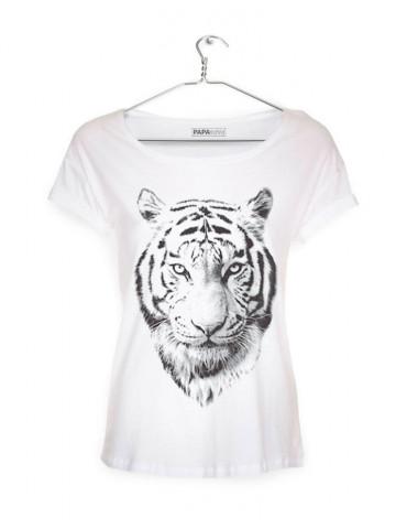 T-Shirt med TIGER motiv (DAME)