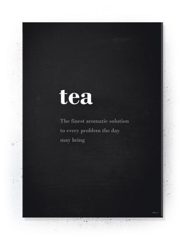 Plakat / Canvas / Akustik: Tea (Quote Me)