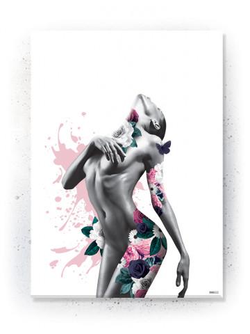Plakat / Canvas / Akustik: Temptation (Floral)