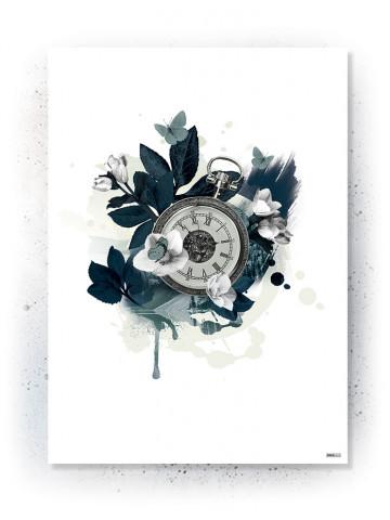 Plakat / Canvas: Timepiece (VIVID)