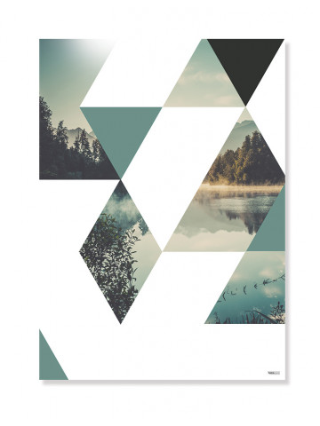 Plakat / Canvas / Akustik: Triangle (Nature)