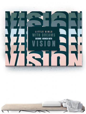 Plakat / Canvas / Akustik: VISION (Empowerment)