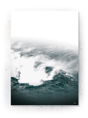 Plakat / Canvas / Akustik: Waves (Thoughts)