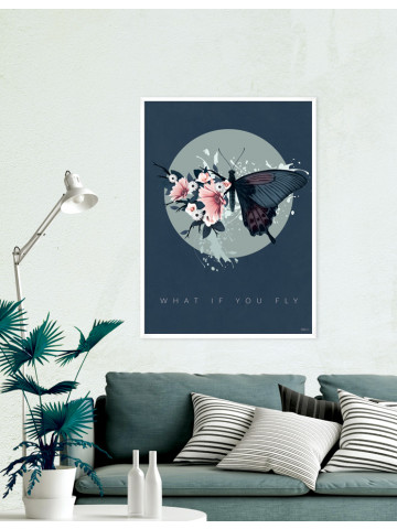 Plakat / CANVAS: What if you fly 2 (Earth)
