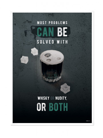 Plakat: Whisky (Men Only)