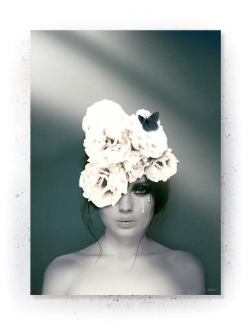 Plakat / Canvas: White Cry (VIVID)