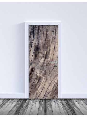 Selvklæbende Laminat: Wooden Door (Til indvendige døre).