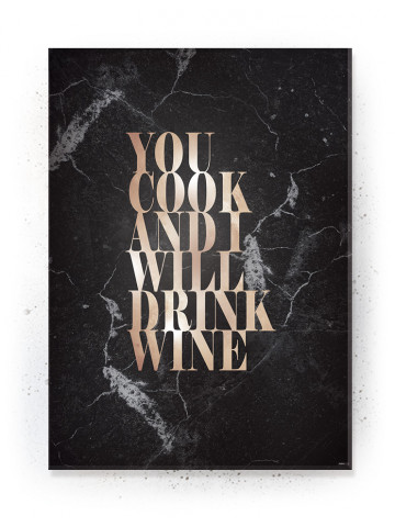 Plakat / Canvas / Akustik: You Cook II (Quote Me)