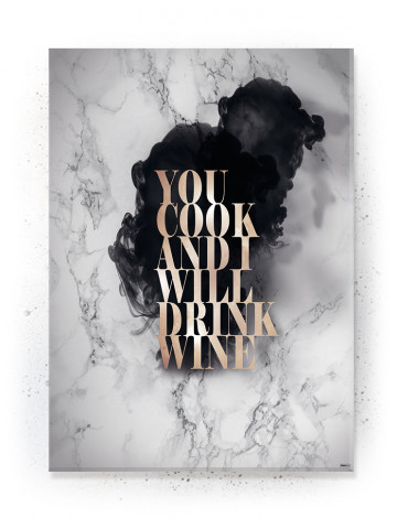 Plakat / Canvas / Akustik: You Cook I (Quote Me)