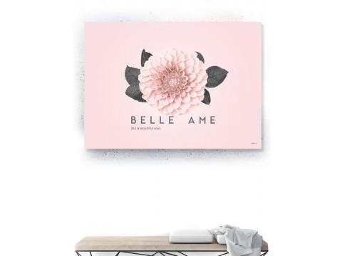 Plakat / Canvas / Akustik: Belle Ame (Flush Pink)