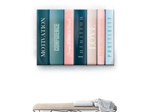 Plakat / Canvas / Akustik: Books (Empowerment)
