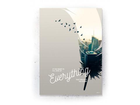 Plakat / Canvas / Akustik: Talent (Inspiration)