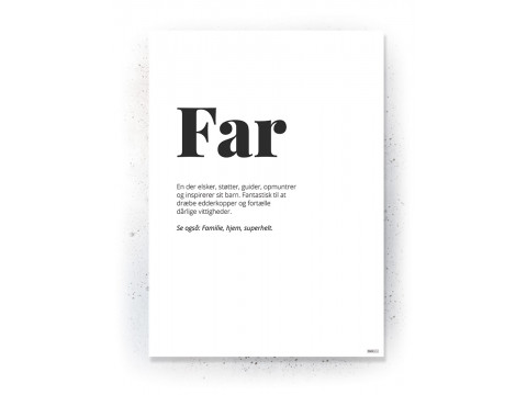 Plakat / Canvas / Akustik: Far (Quote Me)