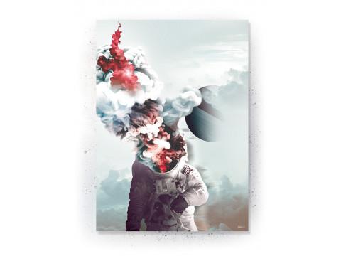 Plakat / Canvas / Akustik: World (Expanse)