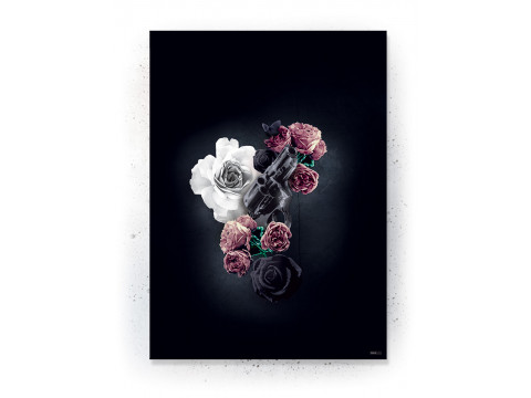 Plakat / canvas / akustik: Gun (Desire)