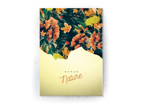 Plakat / Canvas / Akustik: Human Nature (Yellow spring)