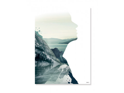 Plakat/Canvas: Human (VIVID)