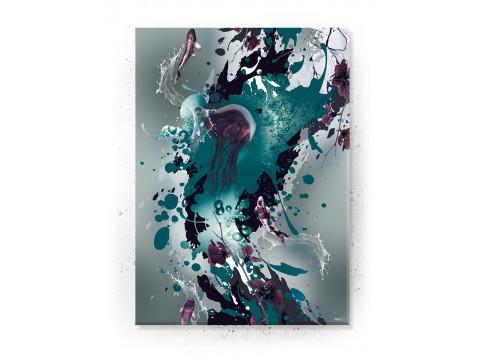 Plakat / Canvas / Akustik: Jellyfish (Disorder)