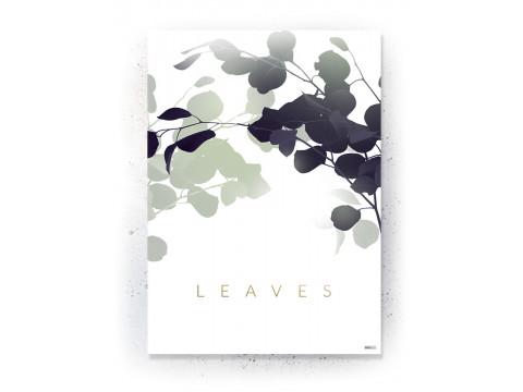 Plakat / canvas / akustik: Leaves (Fall)