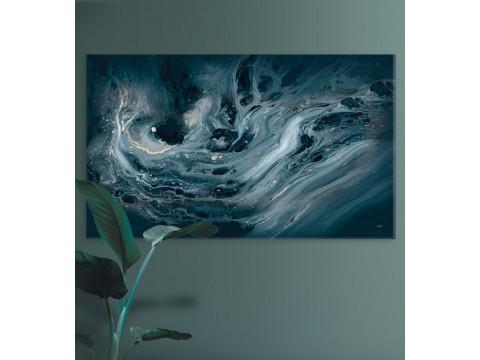 Plakat / Canvas / Akustik: Petroleum Acrylic Paint (Stark)