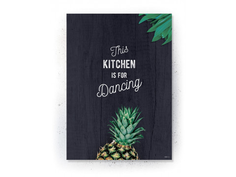 Plakat: Pineapple (KITCHEN)