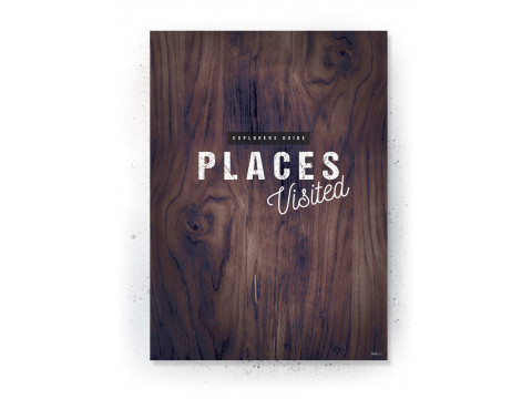 Plakat / Canvas / Akustik: Places Visited (Continents of the World)