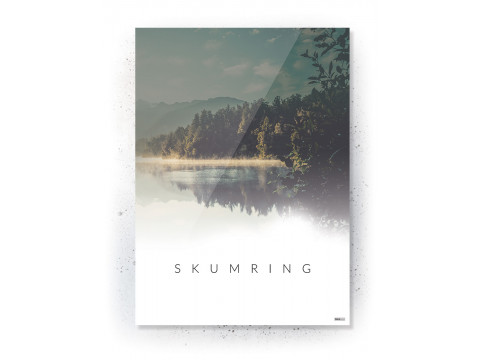 Plakat / Canvas / Akustik: Skumring (Nature)