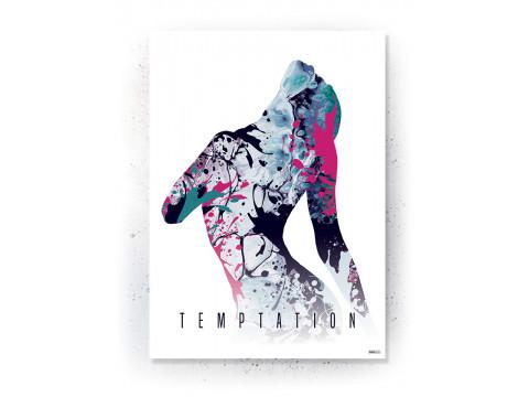 Plakat / canvas / akustik: Heart (Colorize / Life)