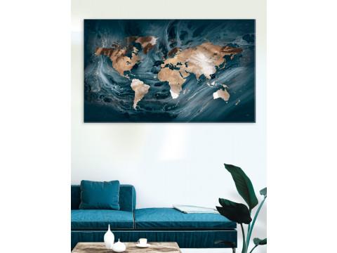 Plakat / Canvas / Akustik: The World / Le Monde (Stark)