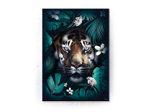 Plakat / Canvas / Akustik: Jungle tiger (Animals)