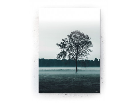 Plakat / Canvas / Akustik: Tree in field (Thoughts)