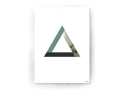 Plakat / Canvas / Akustik: Triangle (Nature)