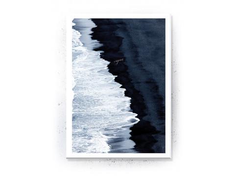 Plakat / Canvas / Akustik: Vagues passepartout (Stark)