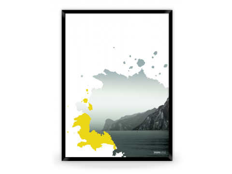 Plakat: View (Yellow Nature)
