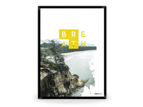 Plakat: Breath (Yellow Nature)