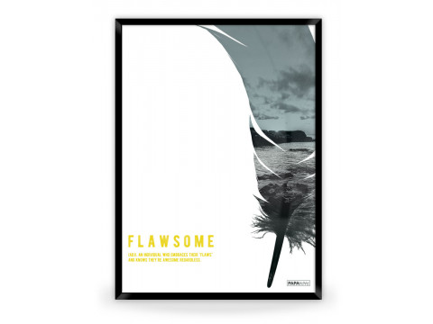 Plakat: Flawsome (Yellow Nature)