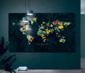 Plakat / Canvas / Akustik: The World (Yellow spring)