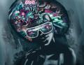 Plakat / Canvas / Akustik: Grafitti Hair (Statements)