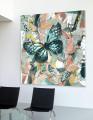 Farverig billede: Sommerfugle (Summer Wasteland) / Canvas