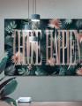 Plakat / canvas / akustik: Choose Happiness 2 / Panorama (Juncture)