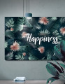 Plakat / canvas / akustik: Choose Happiness / Panorama (Juncture)