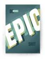 Plakat / Canvas / Akustik: Do more Epic (Gamer plakat)
