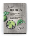 Plakater / Canvas / Akustik: Gin Hass (Kitchen / Light)