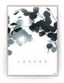 Plakat / Canvas / Akustik: Leaves (Thoughts)