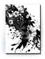 Plakat / Canvas / Akustik: Lion & Flowers (Animals)