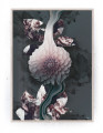 Plakat / canvas / akustik: Liquid Blossom (Dust)