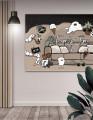 Plakat / Canvas / Akustik: Family Time / Panorama / Storformat (Murial)